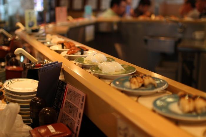 回転寿司に行く時に気をつけたい事